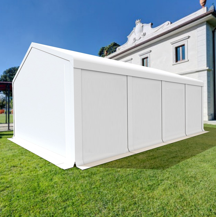 5x8m  2,8M Lagerzelt Zelthalle Industriezelt SMART PE 240g Garagenzelt Carport | Bequeme Berührung  | Bunt,  | Moderne Muster