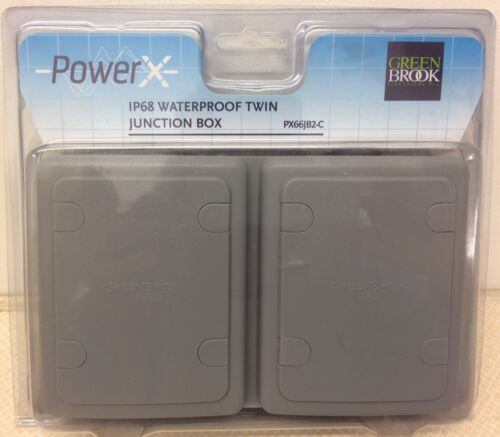 Greenbrook IP68 power x étanche double boîte de jonction