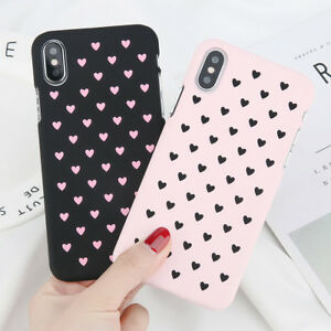 iPhone-XS-MAX-XR-X-Cute-Love-Heart-Hard-Shockproof-Phone-Case-Cover-For