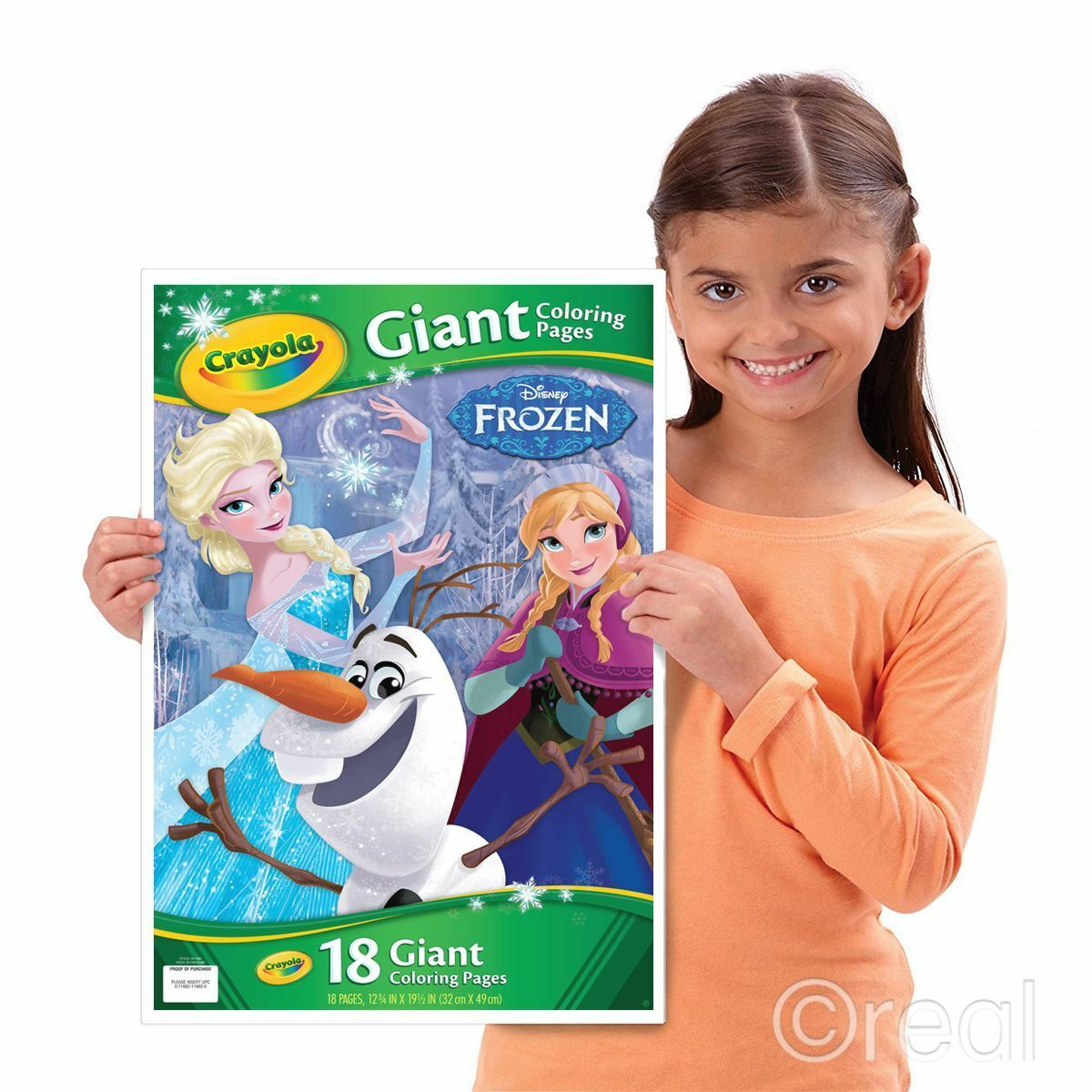 Crayola Disney Frozen Giant Coloring Pages Model 19438397 Ebay