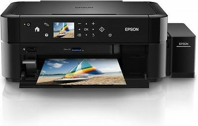 Epson L-850 A4 Size Colour Photo Printer,Scan,Copy with LED + 6 Color CISS Tank