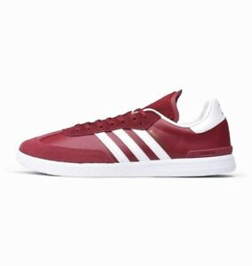 buy online b8bb5 13b3c Image is loading Adidas-SAMBA-ADV-Collegiate-Burgundy-White-Bluebird-BB8688-