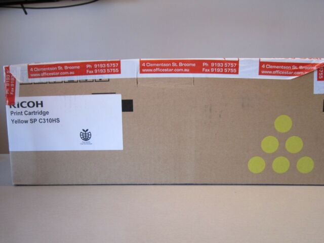 Genuine Ricoh SP C310HS Yellow Toner Cartridge 406486
