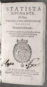 Seicentina-Statista-regnante-di-don-Valeriano-Castiglione-ed-1630-RARO