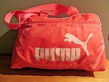 "PUMA Pink Duffle Bag Gym Carry On Overnight 19"""