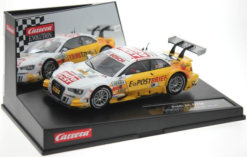 Carrera Evo 27439 Audi A5 DTM Audi Sport Team Abt Sportsline - Timo Scheider  | Stilvoll und lustig