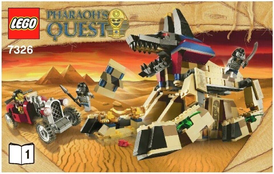 Lego Pharaohs Quest, Flere sæt