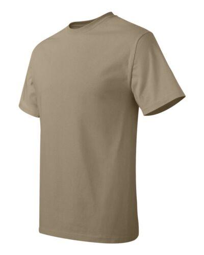 Hanes Mens Shirts Tagless S M L XL 2XL 3XL 4XL 5XL 6XL Unisex T-Shirt New 5250