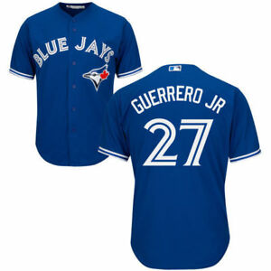 Vlad-Guerrero-Jr-Toronto-Blue-Jays-Majestic-Jersey-Cool-Base-Men-039-s-M-2XL