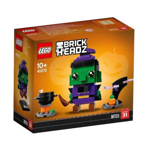 Lego 40272 BrickHeadz Halloween Witch 151 Pieces New with Box