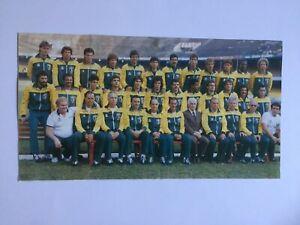 """Autogramm """"ALEMAO""""-Nationalteam BRASILIEN-SSC Napoli/Botafogo-WM 86/90-IN-PERSON"""