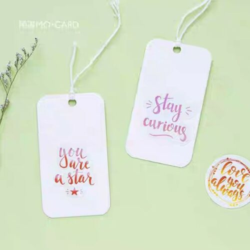 45pcs Planner Die Cut Stickers Blessings and Words ST327