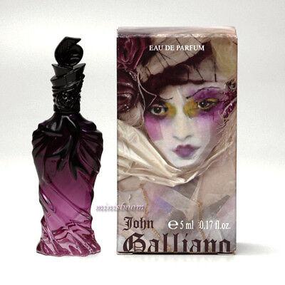 JOHN GALLIANO Eau de Parfum 0.17 Oz 5 ml Mini Perfume Miniature New in Box