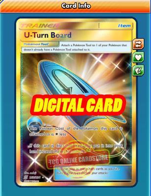 PTCGO, Digital Card SR Mewtwo EX SECRET RARE 164//162 for Pokemon TCG Online
