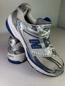 especificar Inflar entrevista  NEW BALANCE Sz 9 Mens MR768ST Stability Running Sneaker Shoes White/Blue  768 GUC | eBay