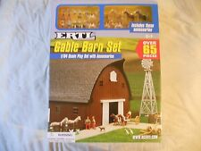 Ertl Farm Country Toy Western Ranch Gable Barn Animal Set MIP 1/64!! Tractor