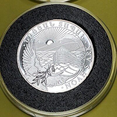 Noah/'s ark 2 1//2  oz .999 fine silver bullion round coin bars