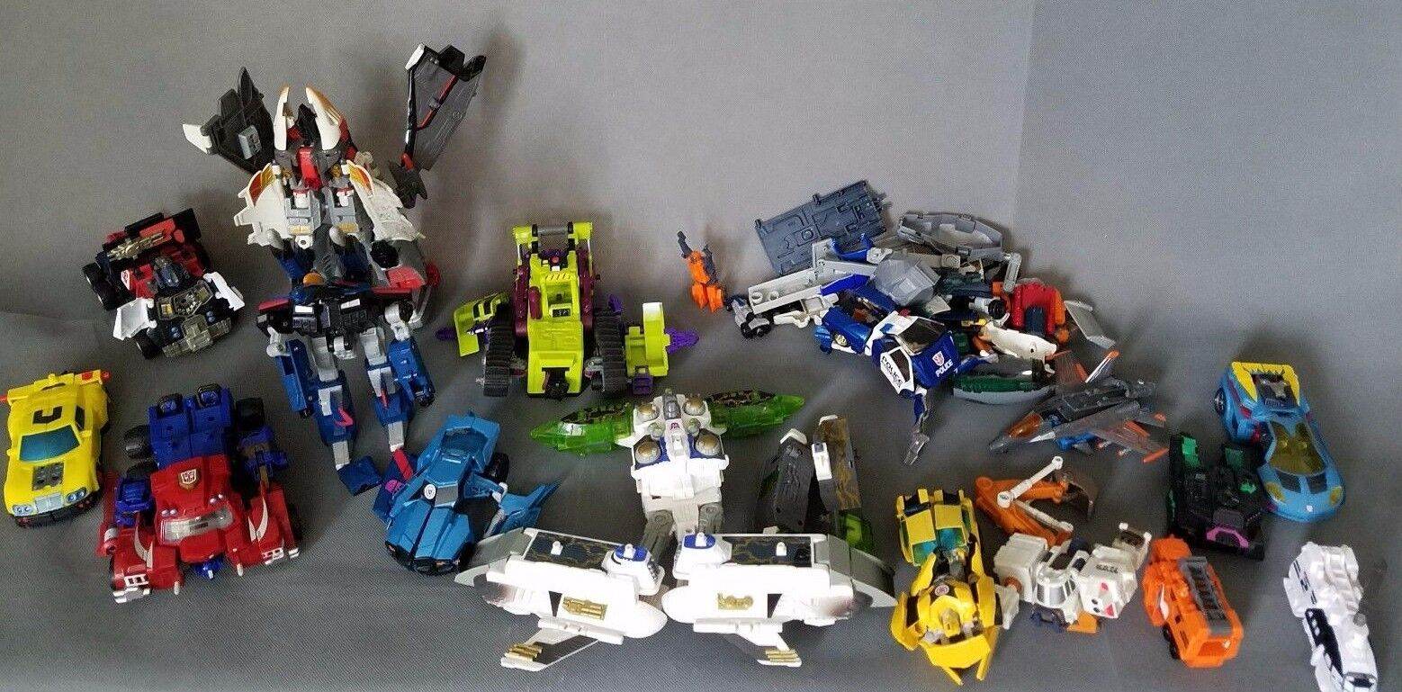 Transformers Lot Complete   Incomplete