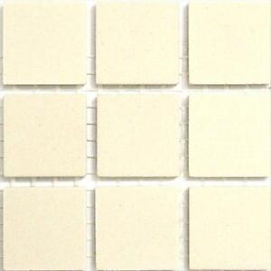 Unglazed Porcelain Mosaic Tiles White
