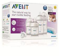 AVENT Newborn Starter Set Natural Baby Feeding Bottles SG-550