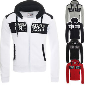 Details about Geographical Norway Glapping Hoodie Sweat Jacket Jumper Cardigan S XXL