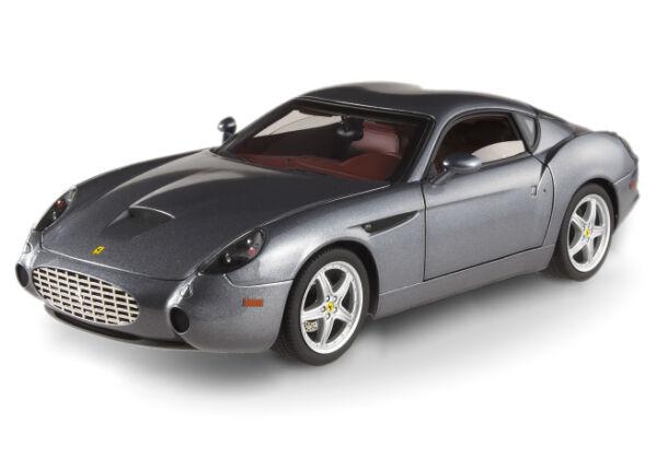 Set Of 2 Ferrari 575 Gtz Zagato 1 Gray 1 Black Hot Wheels Elite Both Brand New
