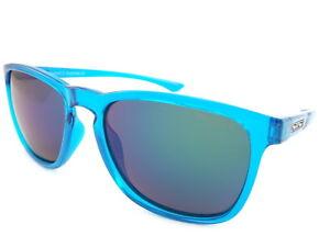 2a0793aa645 Image is loading DIRTY-DOG-Polarized-SHADOW-Sunglasses-Crystal-Blue-blue-
