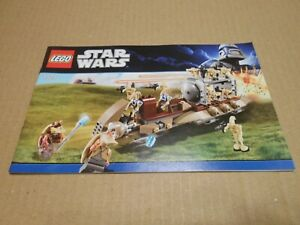 LEGO-instructions-The-Battle-of-Naboo-Star-Wars-7929-LIKE-NEW