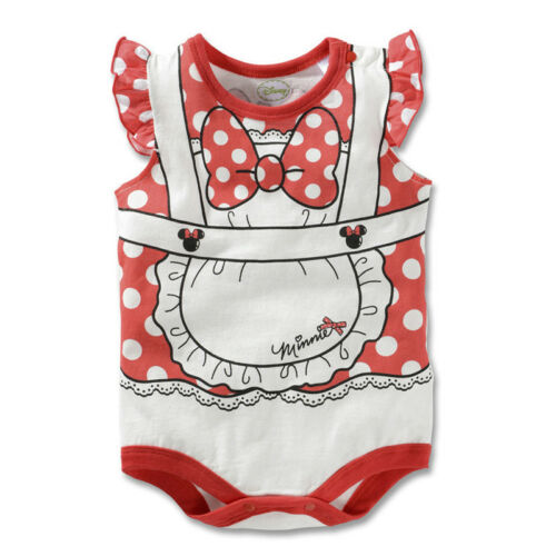 HOT BABY BOYS GIRLS DISNEY ANIMAL SUMMER COSTUME ROMPER BODYSUIT CLOTHES CUSTOME