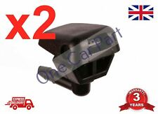 2x FRONT WINDSCREEN WASHER JET NOZZLE FOR FIAT DUCATO 2006 ONWARDS *NEW*