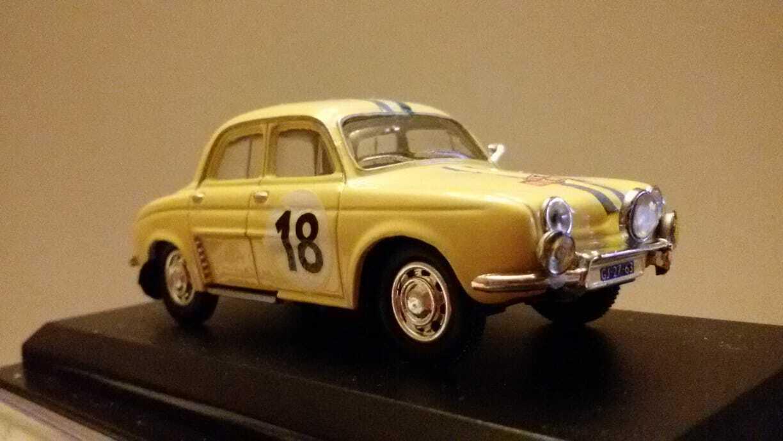 venta Atlas 1 43 Renault Dauphine Rally Color Color Color Crema - Pezzo Unico in Teca    venderse como panqueques