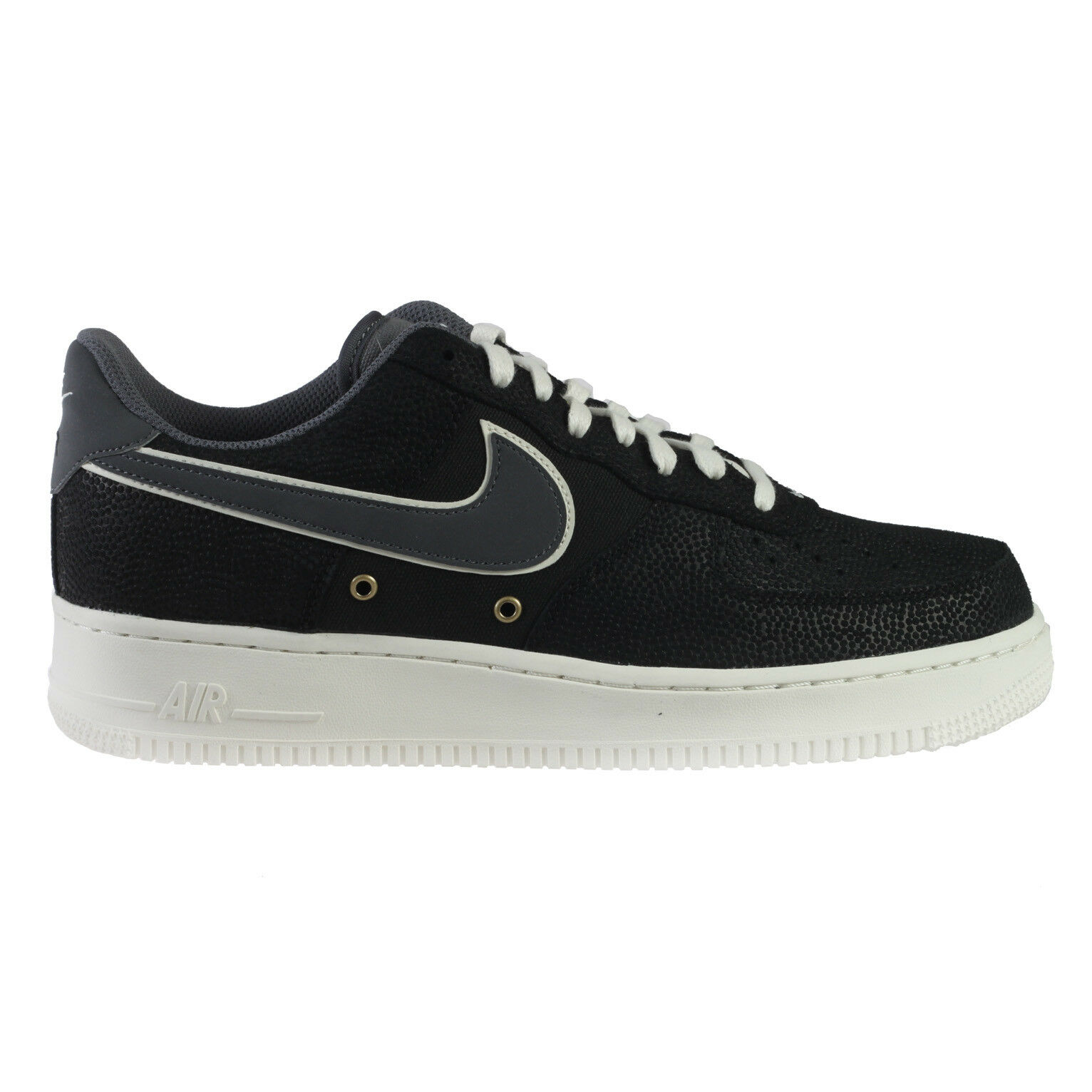 Nike Air Force 1 '07 LV8 Mens 718152-018 Black Dark Grey Sail Low Shoes Comfortable New shoes for men and women, limited time discount