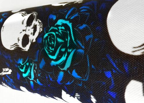 NEW Blue Skull Shock Covers Polaris Ranger 400 500 800 EFI XP HD EV 4x4 Set 4