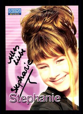 100% Wahr Stefanie Autogrammkarte Original Signiert ## Bc 147090 GroßE Sorten Sammeln & Seltenes