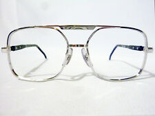 Tart Optical Regency Vintage Double Bridge Eyeglass Frame Silver/Grey 55-20
