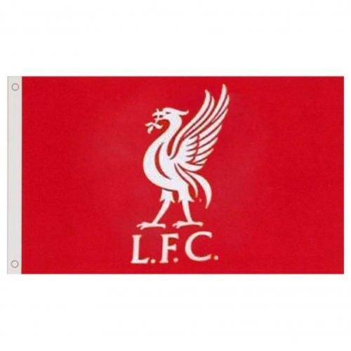 Liverpool Football Club Official Large Red Big Crest Flag Badge Match Banner