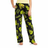 Grinch Sleep Pants Fleece Lounge Pjs Pajamas S M L Xl 2x 3x Dr Seuss