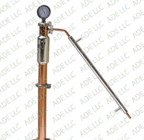"""3/"""" Copper and Stainless Reflux Column"""