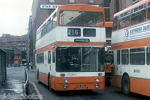 Image is loading Greater-Manchester-Transport-2228-Manchester-Bus-Photo