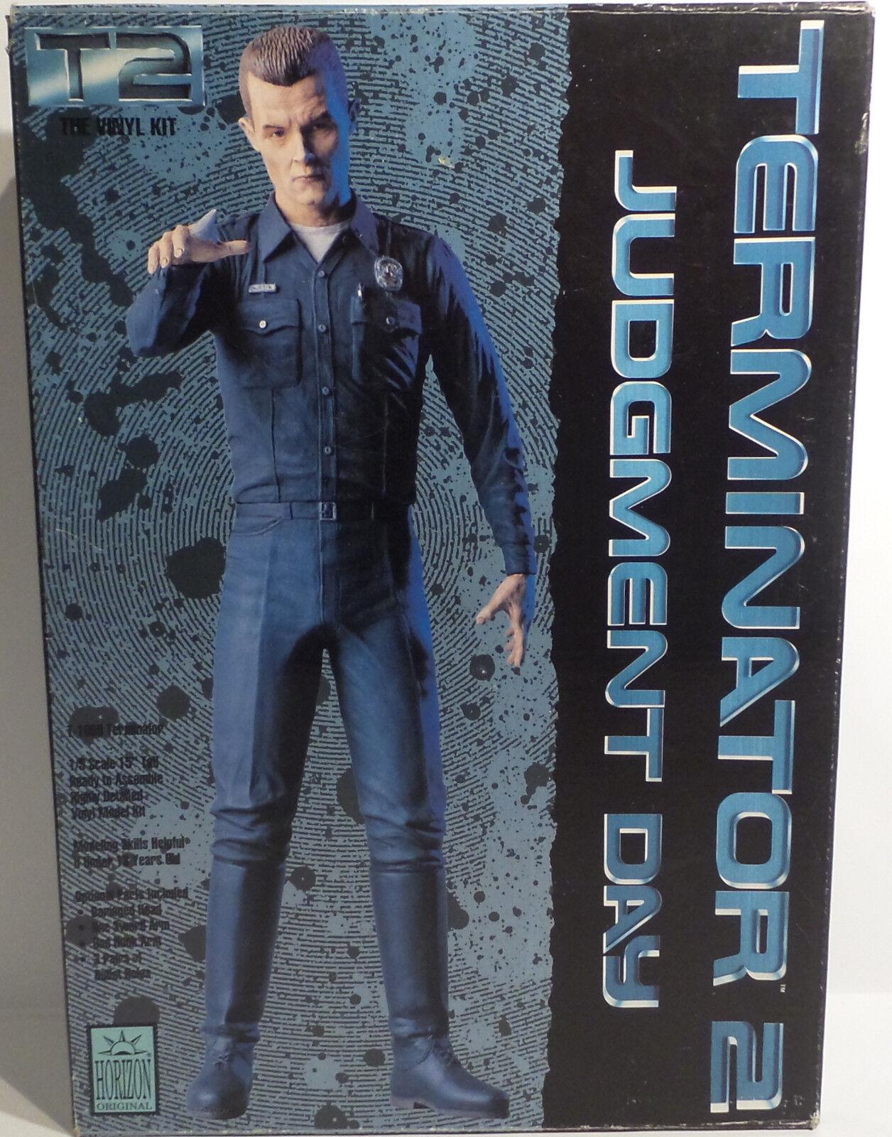 Terminator 2  1 5 échelle T-1000 vinyl model kit fabriqué par horizon en 1991.