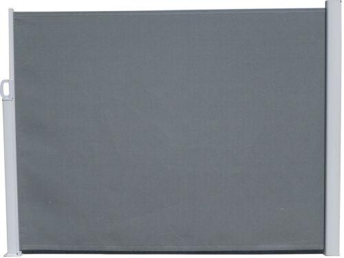 Seitenmarkise grau Markise Sichtschutz Sonnenschutz Windschutz 160x300cm günstig