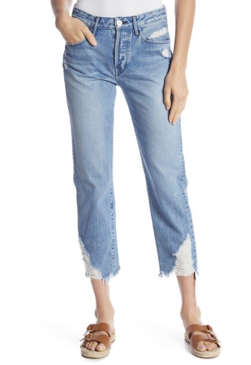 NEW  3x1 W3 Higher Ground Boyfriend Crop Jeans High Waist Size 29 Cover