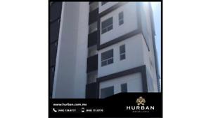 HURBAN RENTA departamento en torre al norte, coto con vigilancia y amenidades.