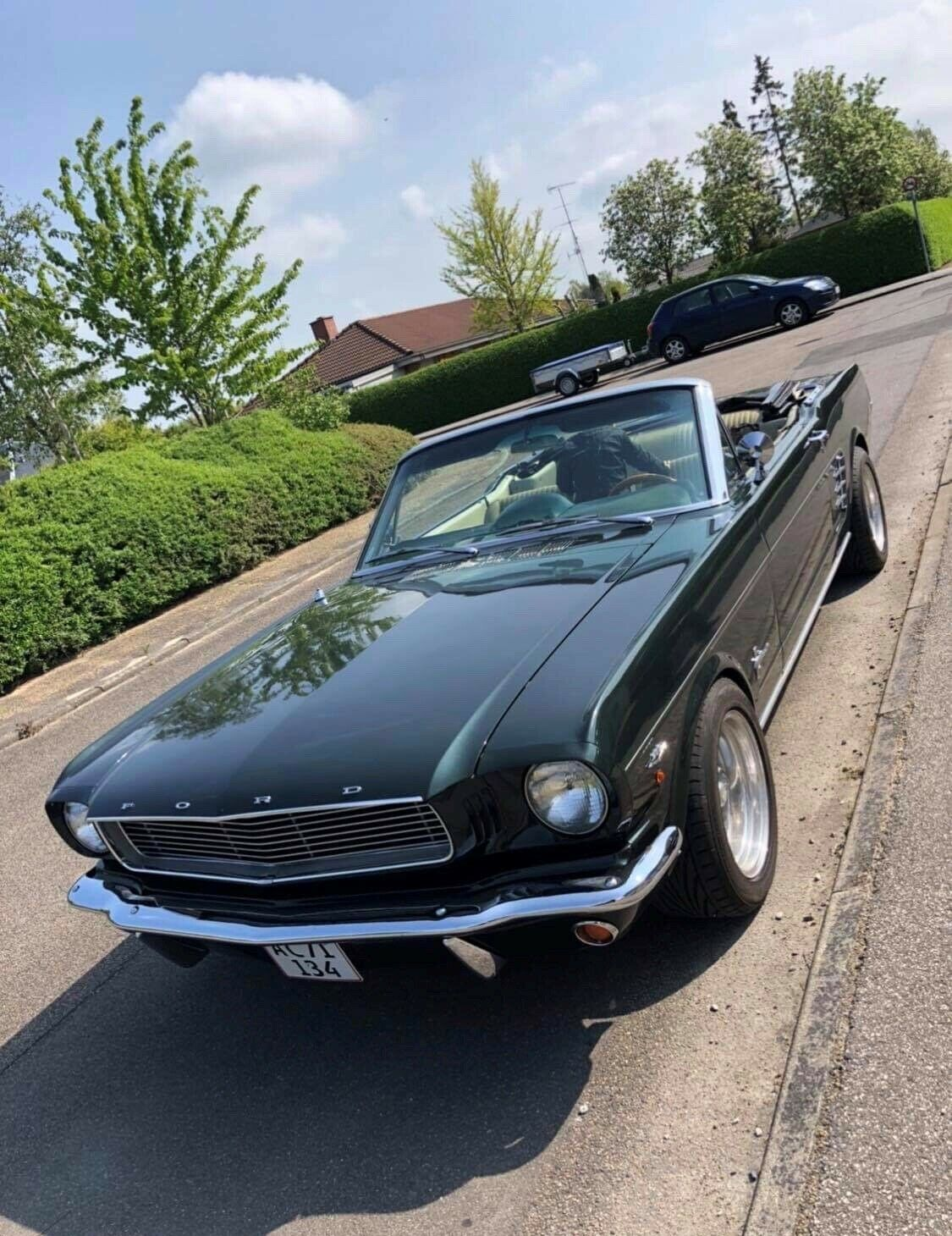 Ford Mustang 4,7 V8 289cui. 2d