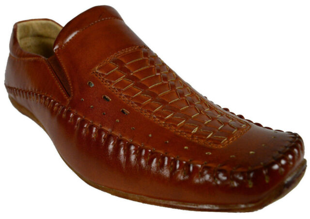 MEN EVERGREEN DRESS/FORMAL SHOE SLIP-ON LOAFERS SHOE MAN-MADE LEATHER/LINNING
