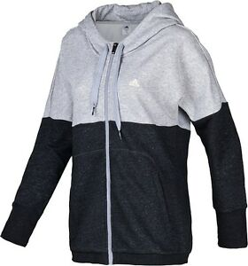 Ladies Women's Girls New Adidas Hooded Sweater Hoodie Jumper ...