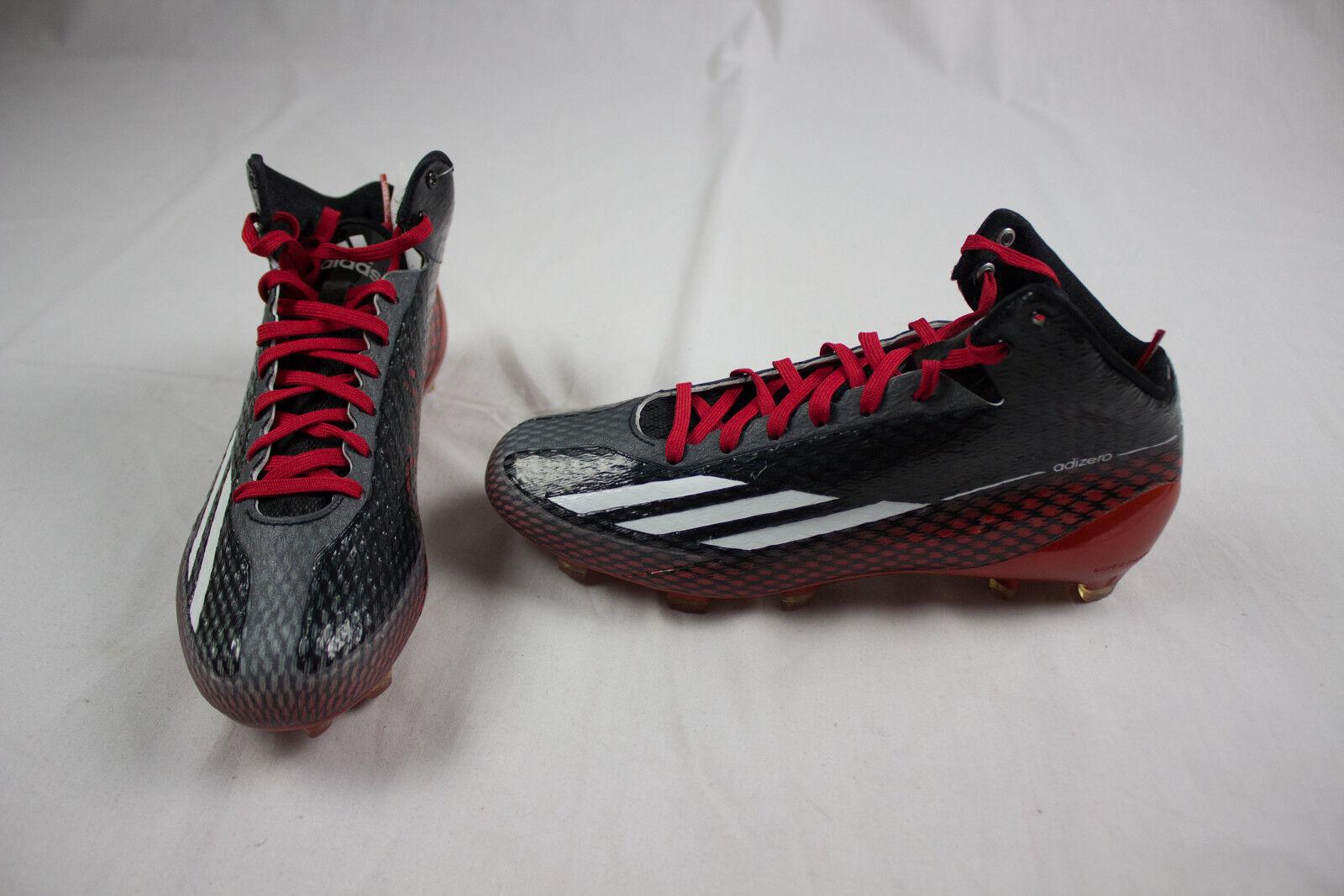 Νέο adidas adizero 5-αστέρων 3.0 Mid - μαύρο / κόκκινο λουριά (πολλαπλά μΡγέθη ανδρών)