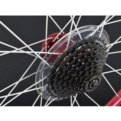 Bike Wheel Spoke Protector Guard Bicycle Cassette Freewheel Protection CoverWP5
