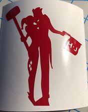 Suicide Squad Harley Quinn Love Silhouette Decal Sticker Joker Katana Batman