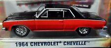 GREENLIGHT 64 1964 CHEVROLET CHEVELLE ZINE MACHINES SUPER CHEVY MAGAZINE CAR